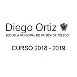 TASAS MATRÍCULA 2018-2019